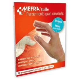 Pansement vaseliné Tulle - MEFRA