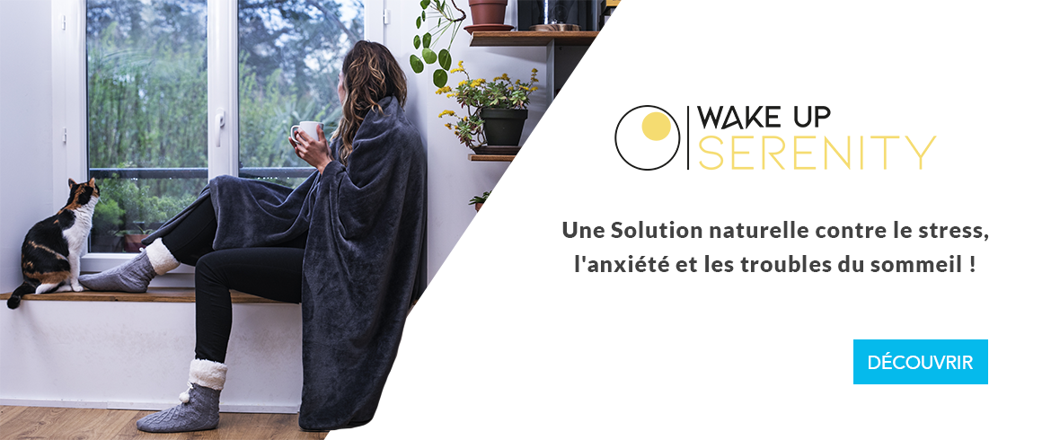 Couverture Wake Up Serenity