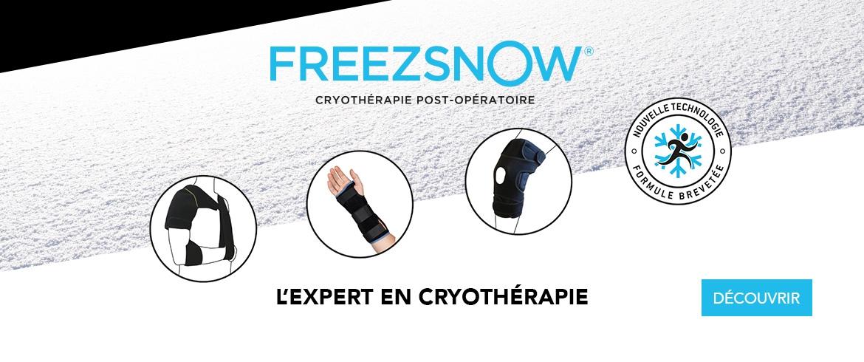 FREEZSNOW - L'expert en cryothérapie